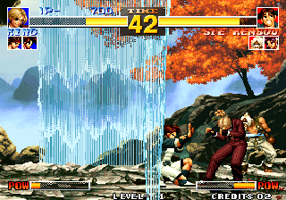 The King of Fighters '95 Arcade Winners poses