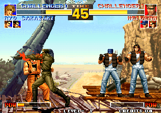 The King of Fighters '95 Arcade Blood punch