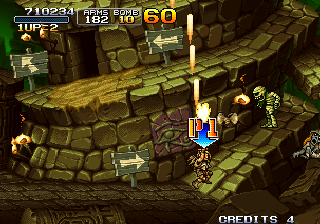 Metal Slug X Arcade Ancient tower