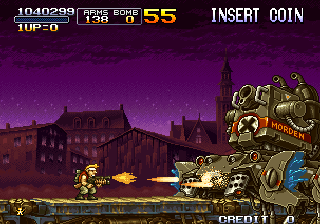 Metal Slug X Arcade Next boss