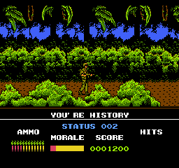 Platoon NES your history