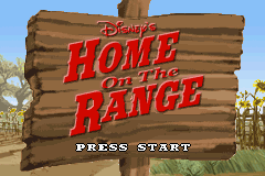 Disney's Home on the Range Game Boy Advance The movie comes to life as a game...