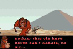 Disney's Home on the Range Game Boy Advance Pretty strong for a horse...