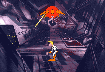 Space Ace II: Borf's Revenge Amiga When he managed to enter Borf's HQ...