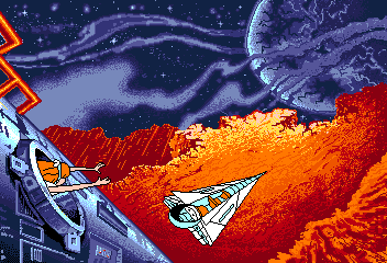 Space Ace II: Borf's Revenge Amiga ... Borf once for all.