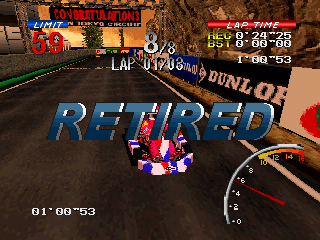 Ayrton Senna Kart Duel 2 PlayStation This can happen... but only if you're EXTREMELY negligent.