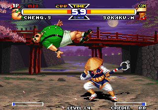 Real Bout Fatal Fury Special Arcade Cheng - So fat, but can fly