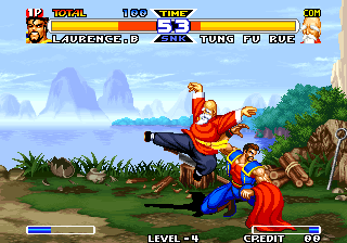 Real Bout Fatal Fury Special Arcade Old master Tung Fu Rue