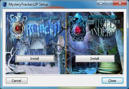 Mystery Trackers Bundle Windows Splash screen