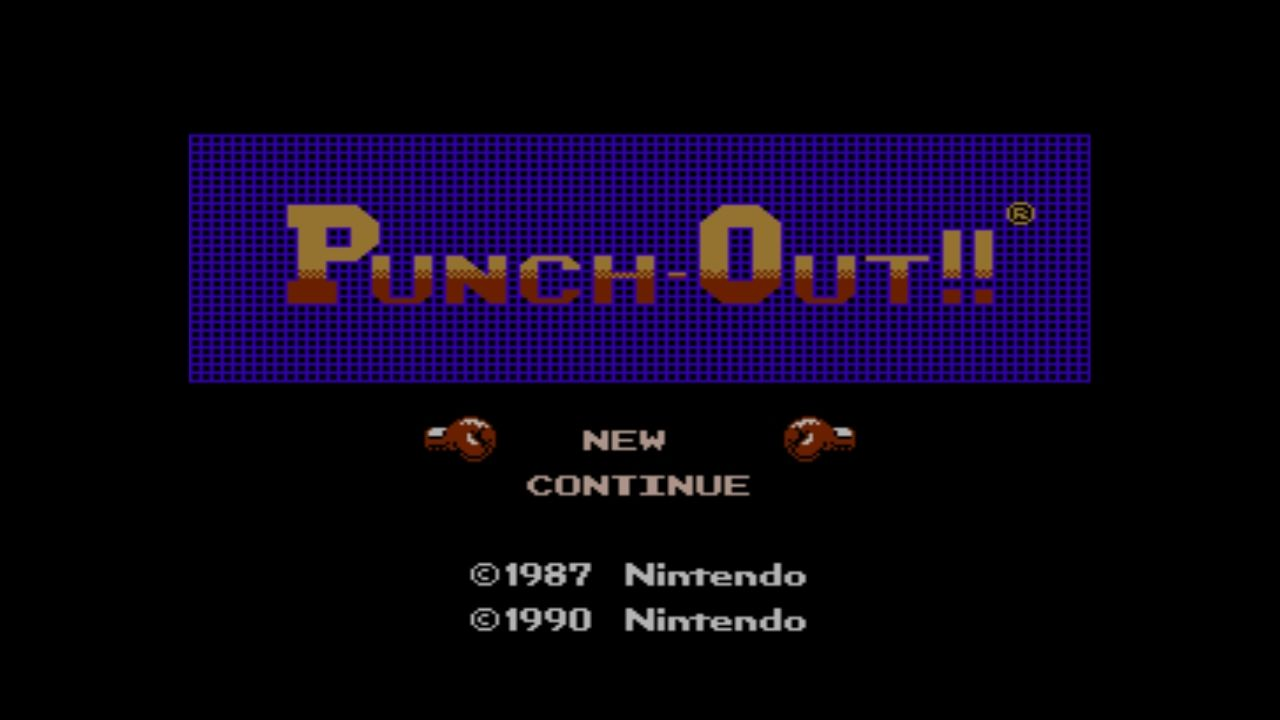 Mike Tyson's Punch-Out!! Wii U Title Screen