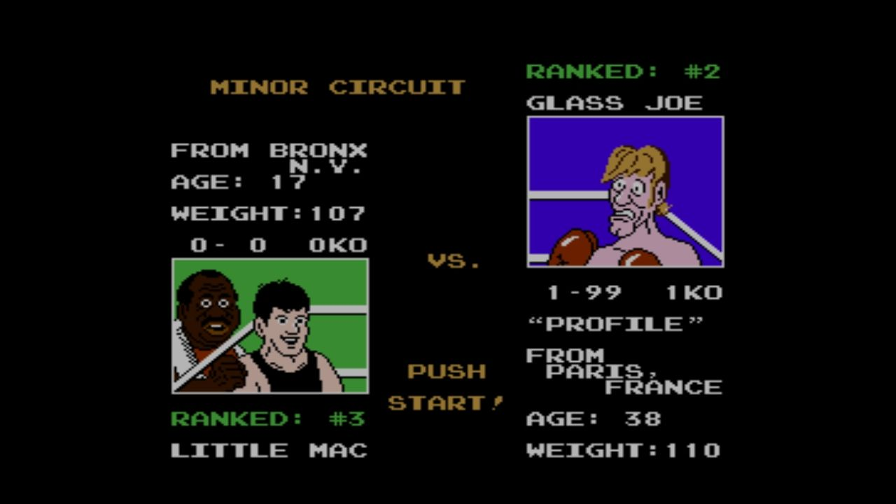 Mike Tyson's Punch-Out!! Wii U Glass Joe, the first opponent