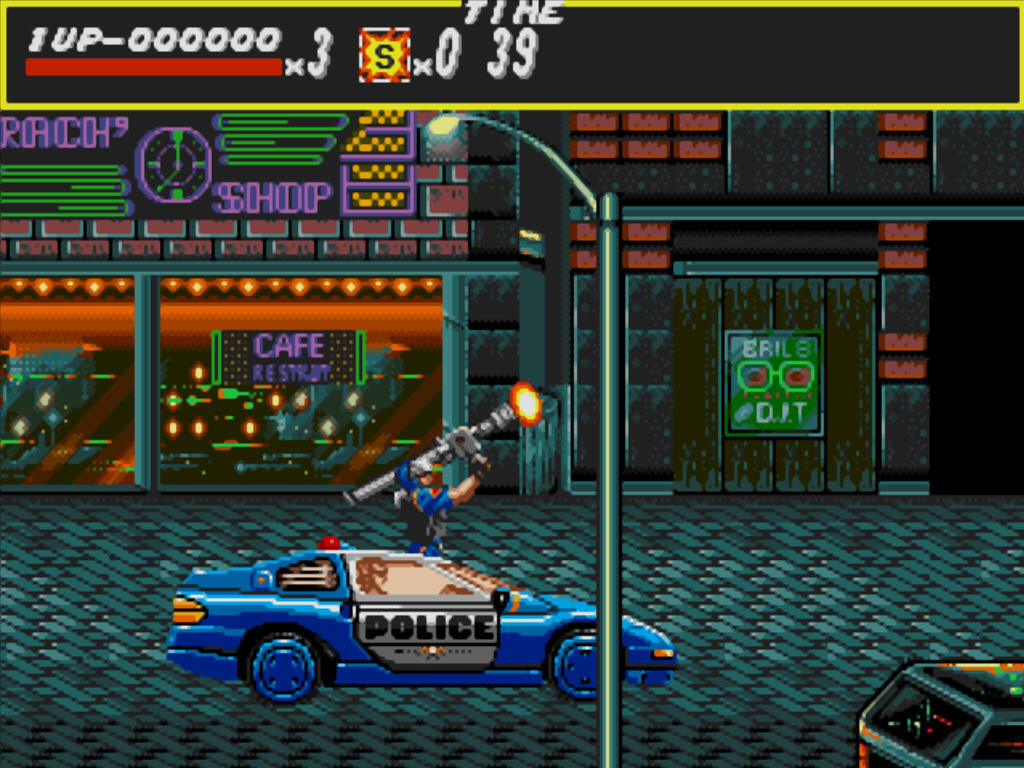 Streets of Rage Windows The cops as an ally.