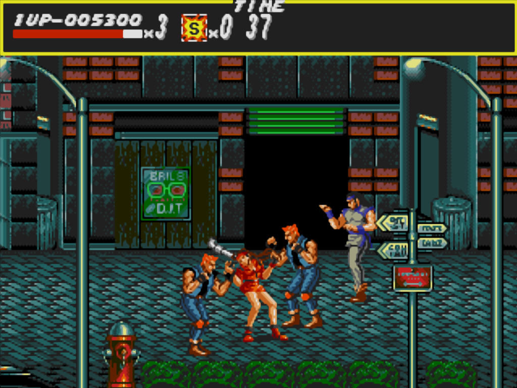 Streets of Rage Windows A little trouble