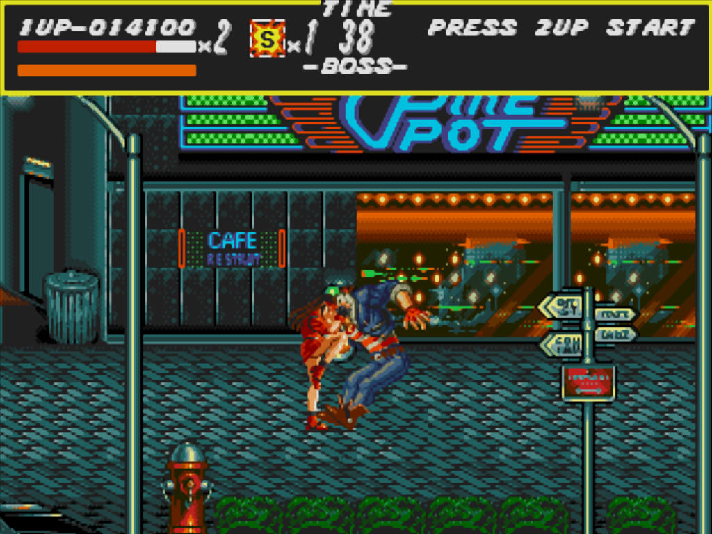 Streets of Rage Windows Boss