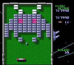Arkanoid: Doh It Again SNES Space Invaders!