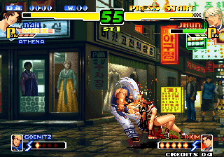 The King of Fighters 2000 Arcade Mai vs Jhun