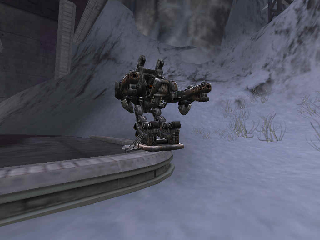Unreal Tournament 2004 Windows This is a turret, and you can control them to help defend key points.