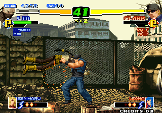 The King of Fighters 2000 Arcade Time to hugs!