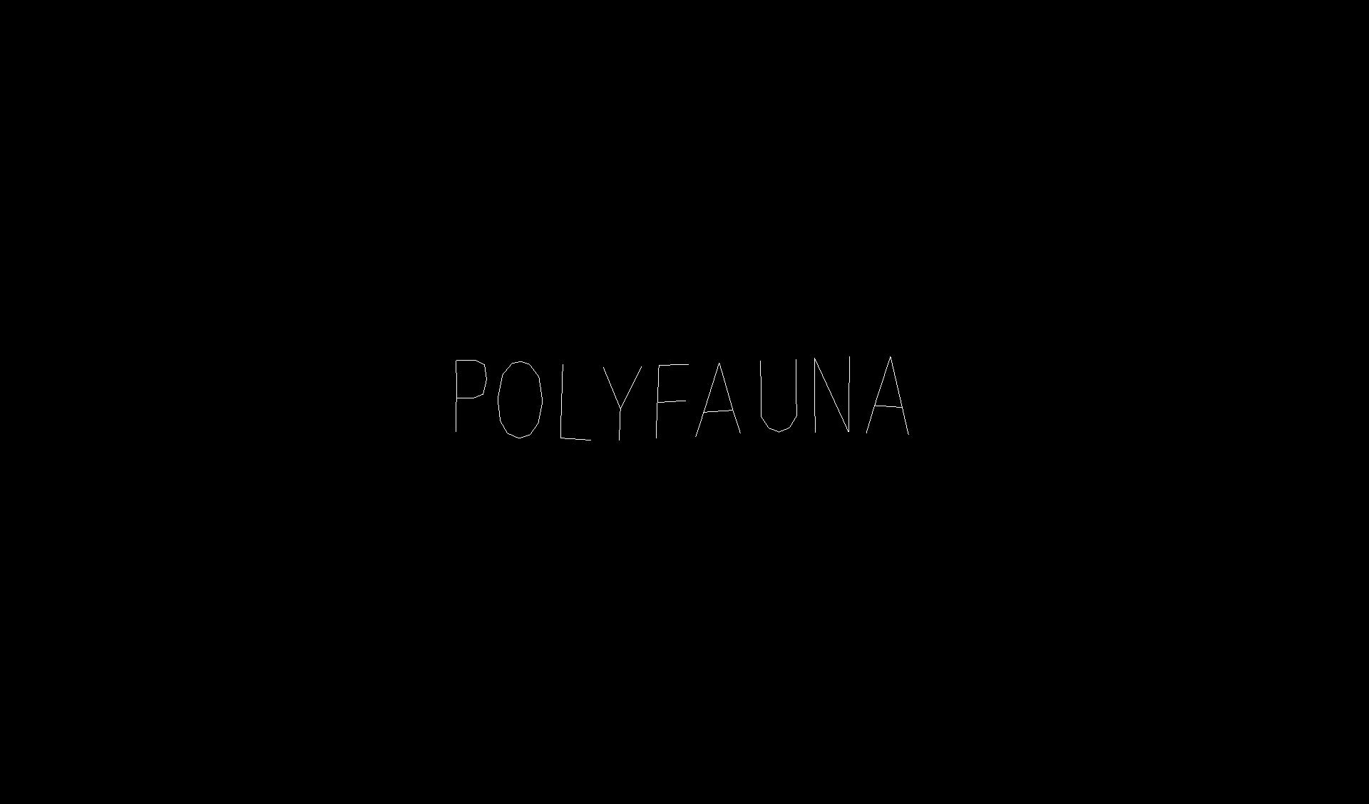 PolyFauna Android Title screen