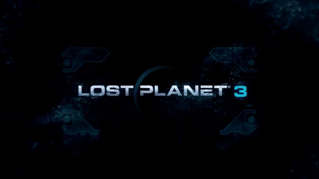 Lost Planet 3 PlayStation 3 Main title.