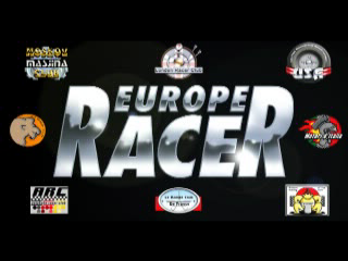 Europe Racing PlayStation Title screen