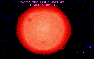 Star Control II DOS Copy protection: identify a planet