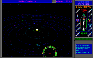 Star Control II DOS Uh-oh, this area in space seems heavily guarded...