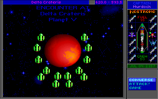Star Control II DOS And so it is! Can you take on an entire fleet?..
