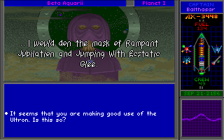Star Control II DOS Dialogue is consistently witty and often absurdly humorous