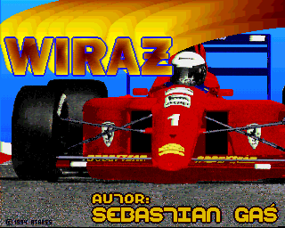 Wiraż Amiga Title screen