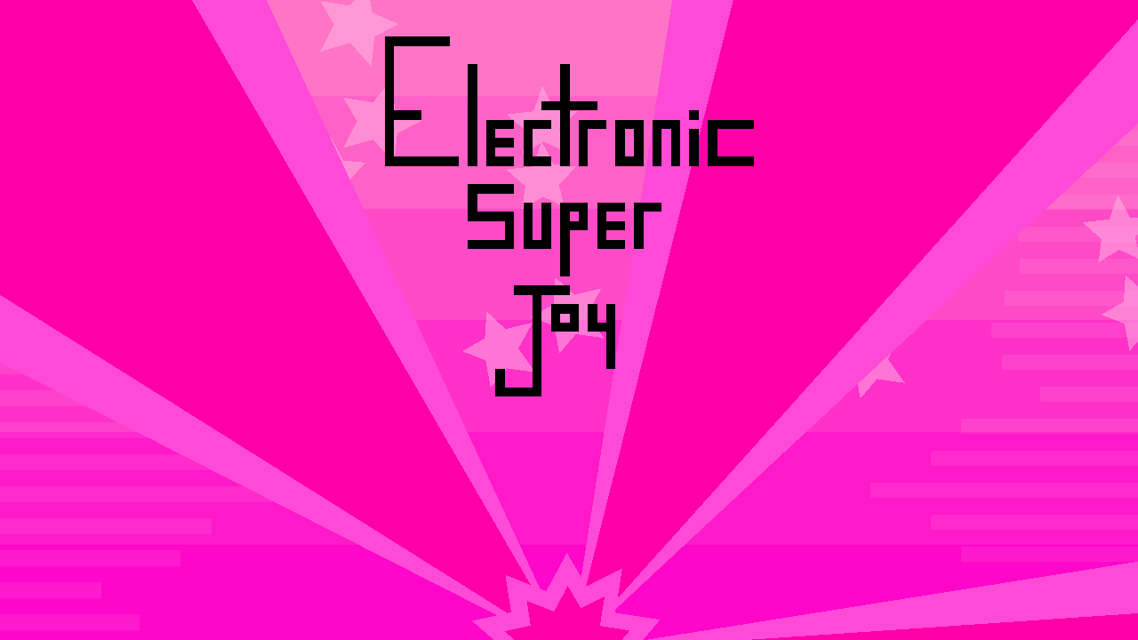 Electronic Super Joy Windows Title screen