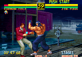 Art of Fighting 3: The Path of The Warrior Arcade Uppercut.