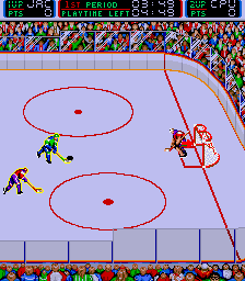 Blades of Steel Arcade Shoot.