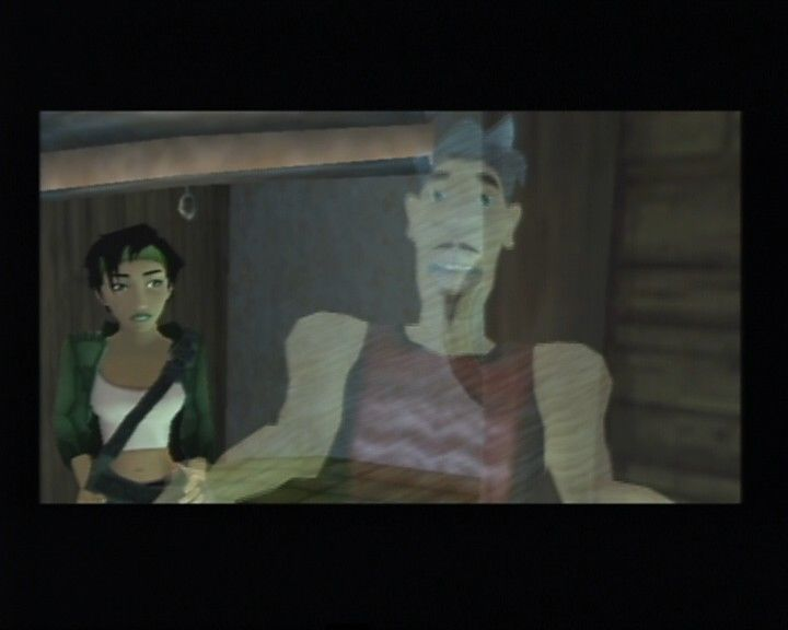 Beyond Good & Evil PlayStation 2 Edmundo is your digital pal that will analyze all kinda things you collect along the way.