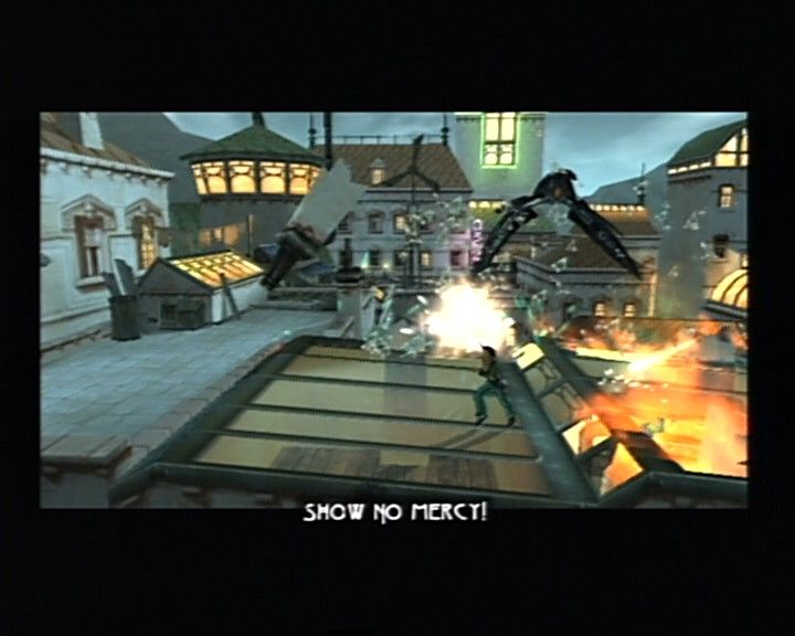 Beyond Good & Evil PlayStation 2 Racing over the rooftops is one of the most dynamic scenes in the game.