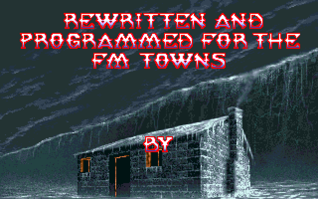 Shadow of the Beast II FM Towns by Tim Ansell