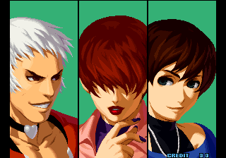 The King of Fighters 2002: Challenge to Ultimate Battle Arcade Intro.