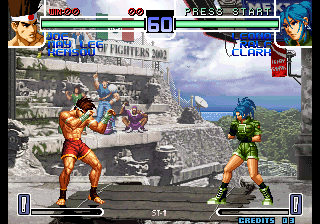 The King of Fighters 2002: Challenge to Ultimate Battle Arcade Fight!