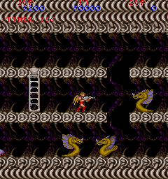 Legendary Wings Arcade Platform action.