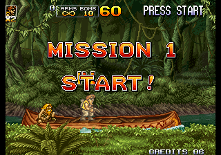 Metal Slug 5 Arcade Mission 1.