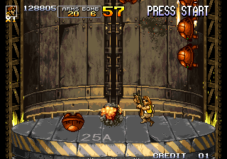 Metal Slug 5 Arcade Shoot them shells.