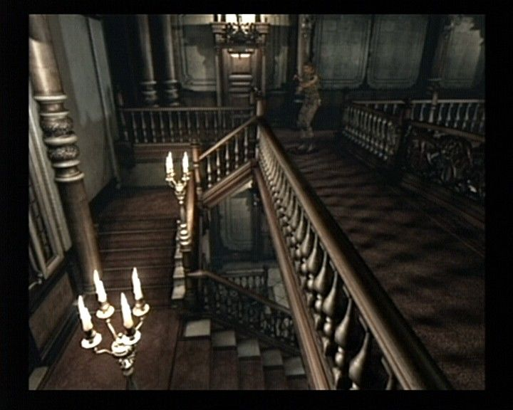 Resident Evil GameCube Chris Scenario - Exploring the mansion may be longer than it may seem at first