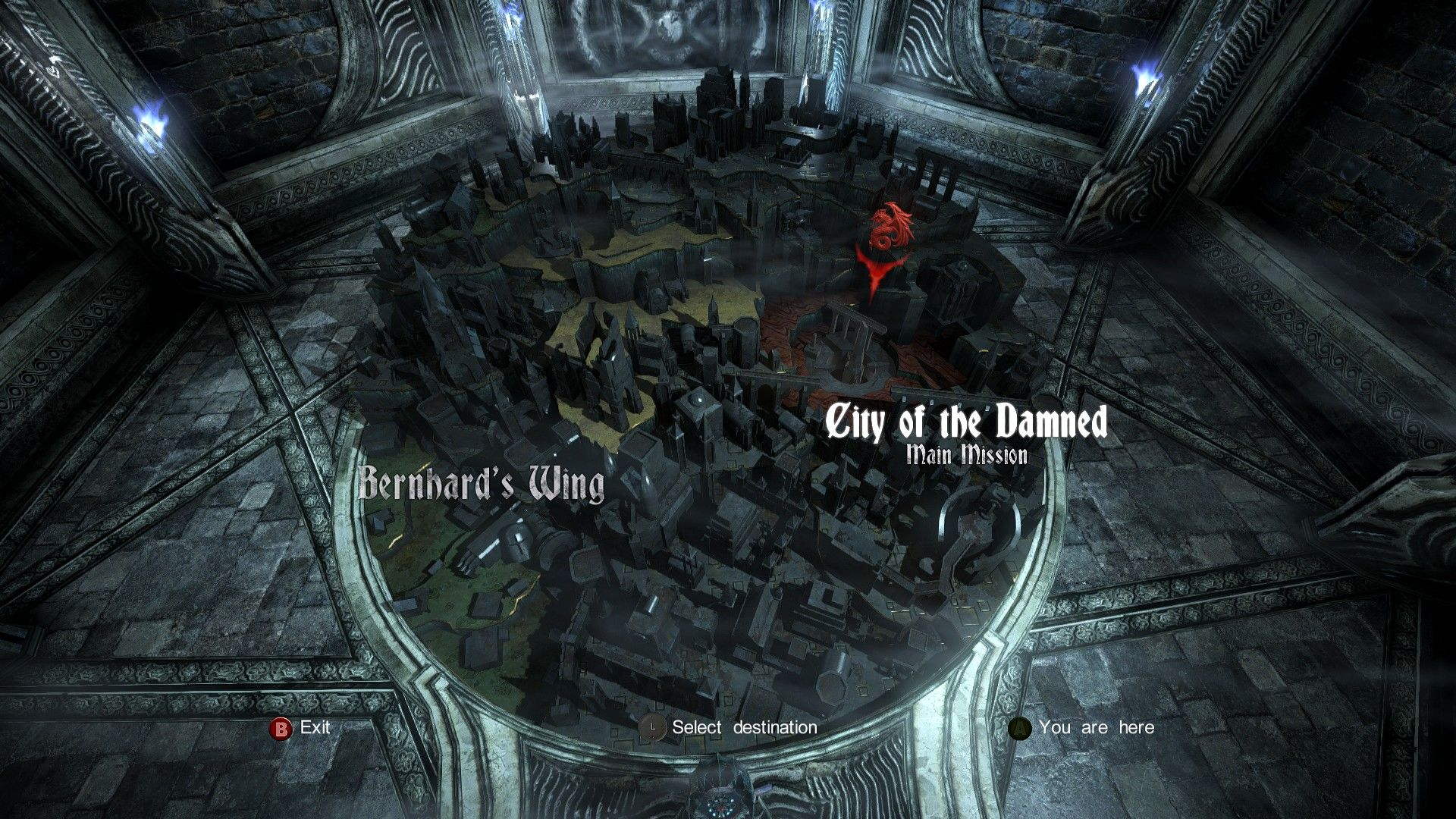 Castlevania Lords Of Shadow 2 Windows The Impressive 3D Map Castle