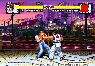 Real Bout Fatal Fury Arcade Start with a punch.