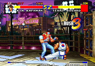 Real Bout Fatal Fury Arcade Another low sweep.