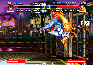 Real Bout Fatal Fury Arcade Rush.