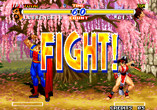 Real Bout Fatal Fury 2: The Newcomers Arcade Fight!