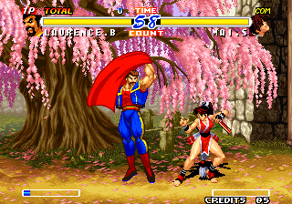 Real Bout Fatal Fury 2: The Newcomers Arcade Ole.