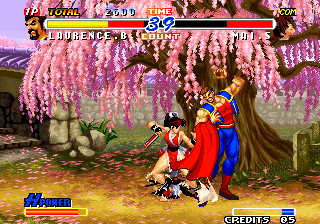 Real Bout Fatal Fury 2: The Newcomers Arcade Kick to the ankle.