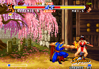 Real Bout Fatal Fury 2: The Newcomers Arcade Good punch.